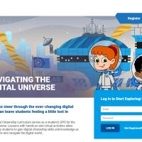 Navigating the Digital Universe Homepage